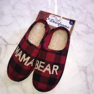 3658eea4299 dearfoams Shoes - Mama Bear Dearfoam Slippers